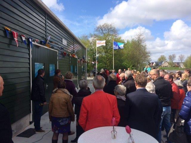 Feestelijke opening clubhuis Roeivereniging De Kogge en Schaatsvereniging Ons Genoegen